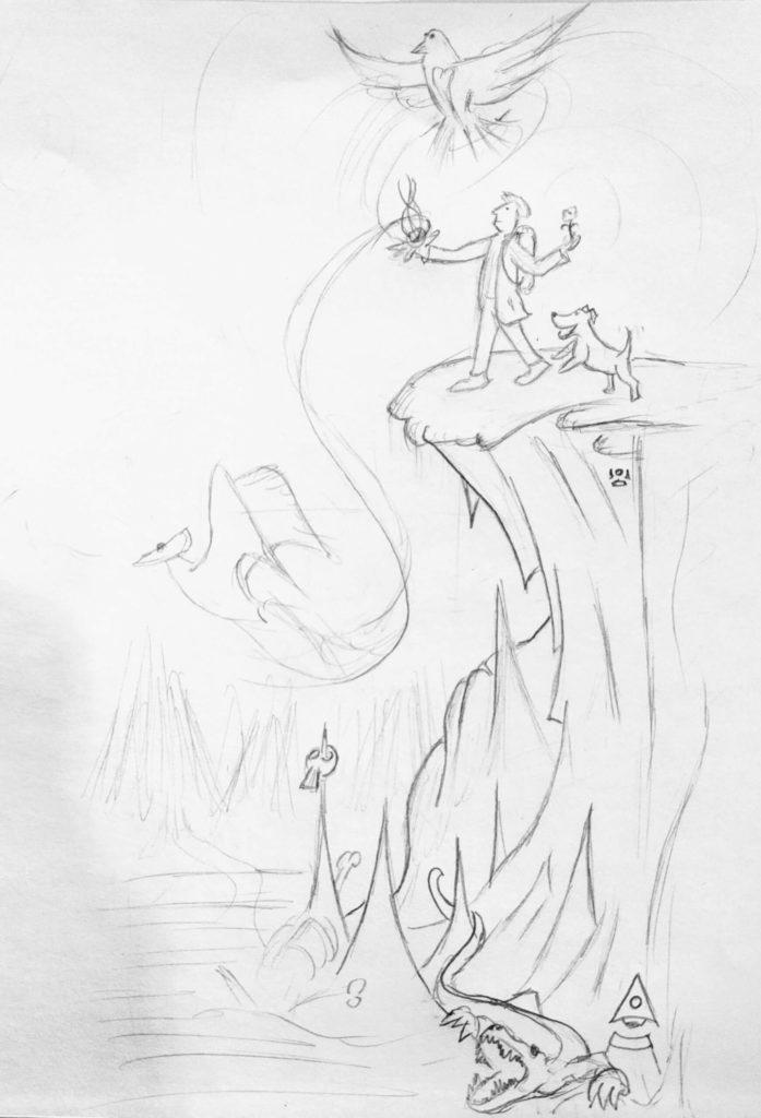 Fool Journey Sketch